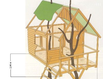 Картинки по запросу домик на дереве