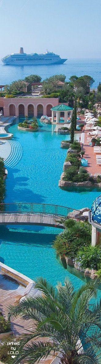 Monte Carlo Bay Hotel and Resort | places to #getlucky | curated by your friends at luckybloke.com