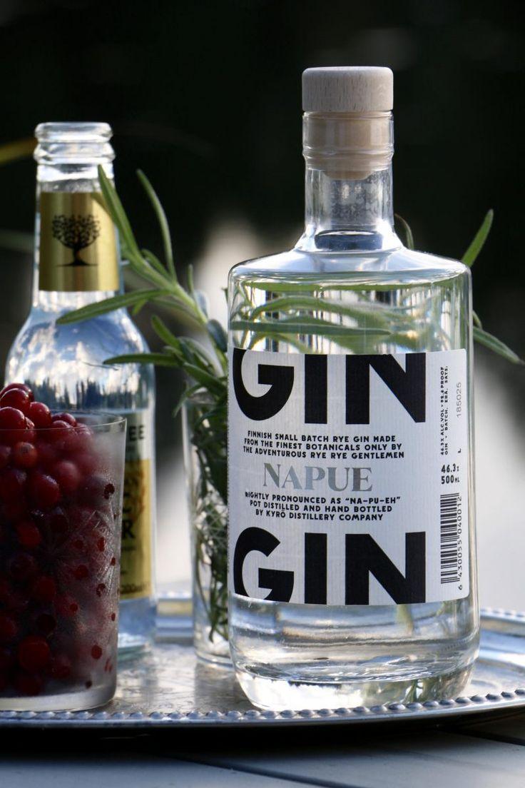 World's Best Gin - Napue Gin, Kyrö Distillery Company