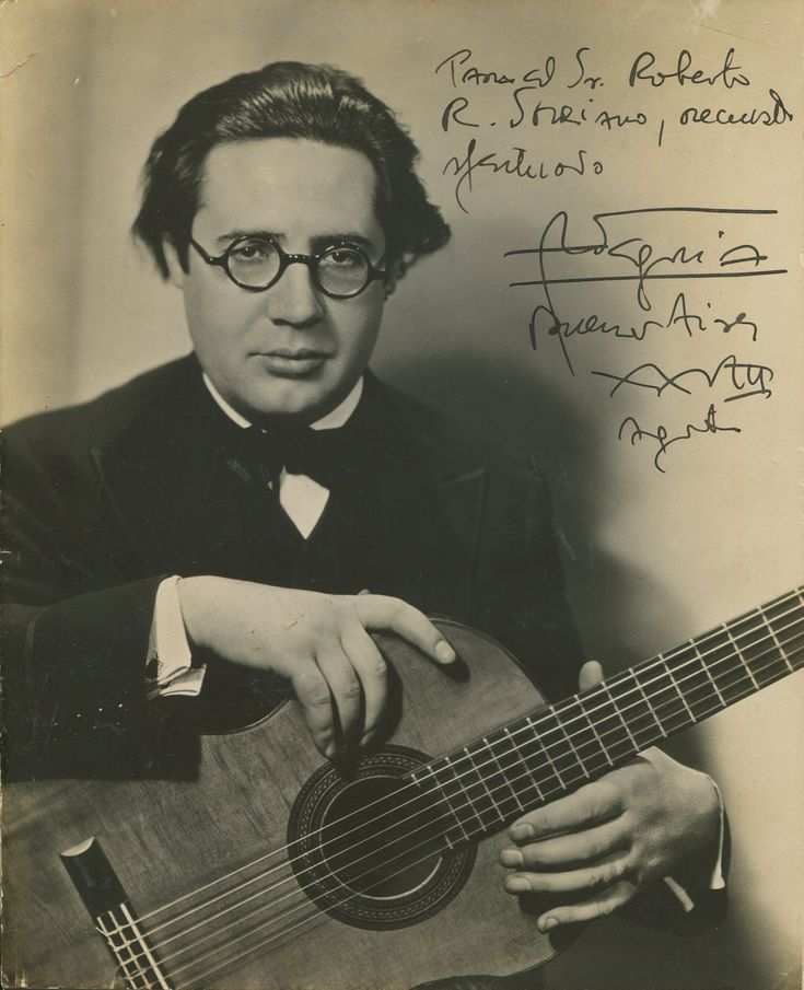 Classical Guitar Chat - Legendary Classical Guitarist - Andres Segovia