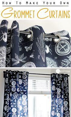 Curtains Ideas curtain grommets diy : 17 Best ideas about Grommet Curtains on Pinterest | Make curtains ...
