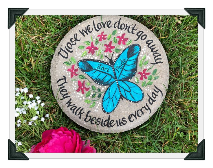 596 best anniversary stepping stones images on pinterest