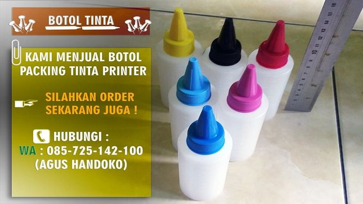 WA 0857 2514 2100, Botol Tinta Lancip, Botol Tinta Kerucut, Botol Tinta Printer 100ml  1.Terbuat dari bahan hdpe Plastik yang berkualitas. 2.Ada ukuran pas 100 ml. 3.Ada ukuran level tinta.  Harga Rp 1900 / Quantiti Nego  Silakan Order Sekarang !!!  Bpk. Agus Handoko WA 0857.25.142.100 PIN BB D71136C7  Dinaprinter  Spesialis Mekanik Printer Tinta Printer One Ink Alamat :  Norowangsan Rt 04 RW 13 Jl. Temulawak 3 Kel. Pajang 57146 Kec. Laweyan, Kota Surakarta, Jawa Tengah - Indonesia
