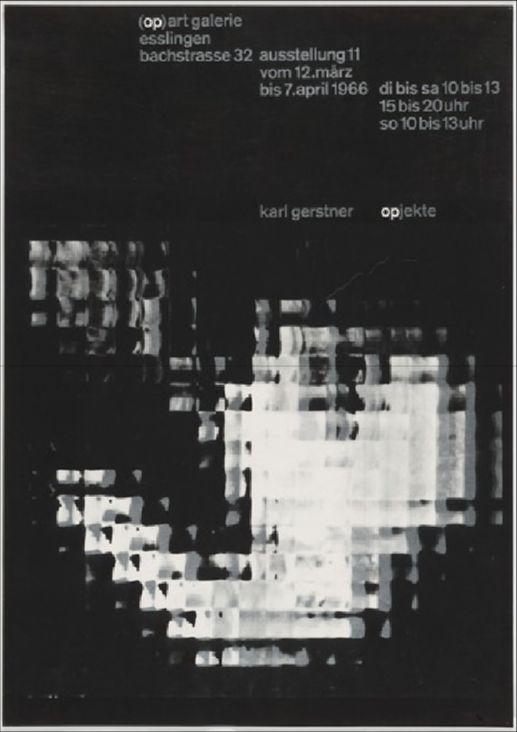 Karl Gerstner – Opjekte, 1966