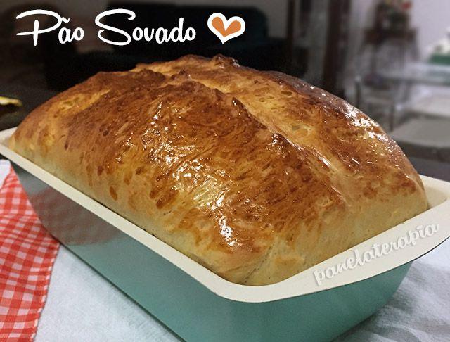 PANELATERAPIA - Blog de Culinária, Gastronomia e Receitas: Pão Sovado