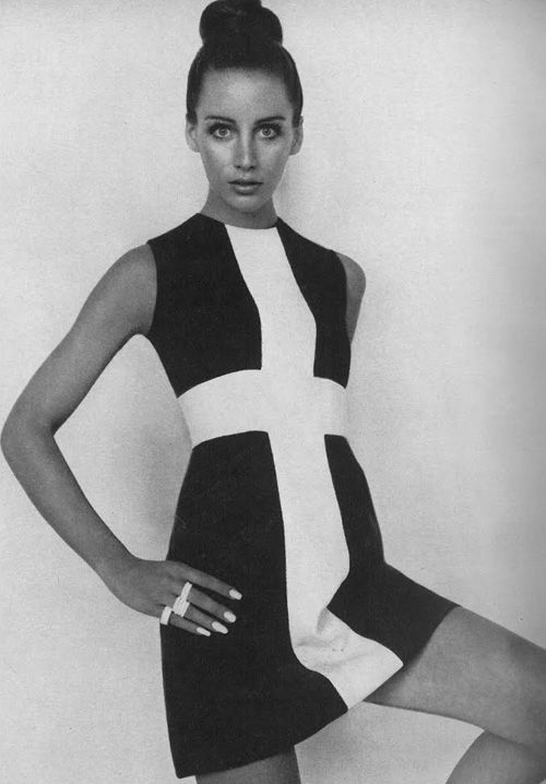 Mod dress from 60s