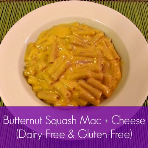 Butternut Squash Mac and Cheese (Dairy-Free and Gluten-Free)
