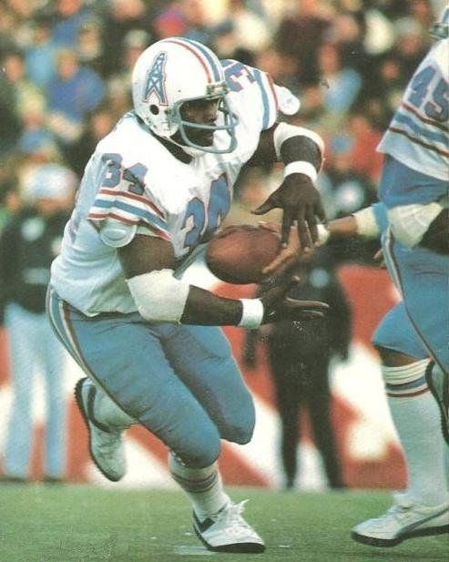 "Ear Campbell, ""The Tyler Rose"", Houston Oilers"
