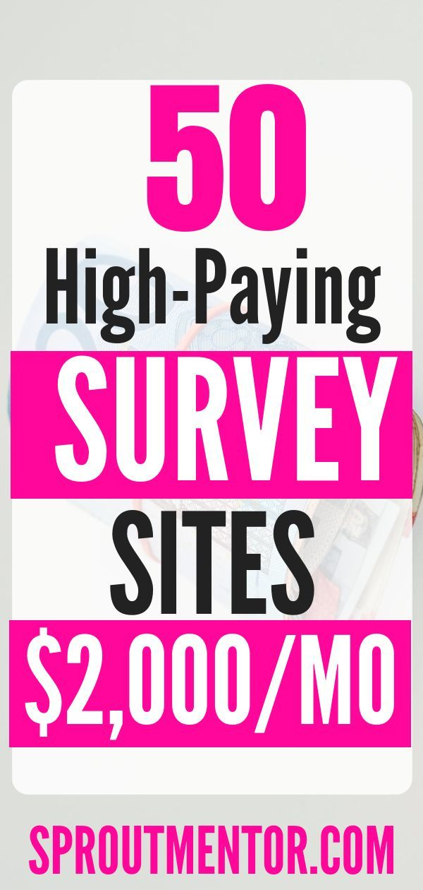 50 Of The Best Paid Survey Sites To Make Money in 2019 – Information