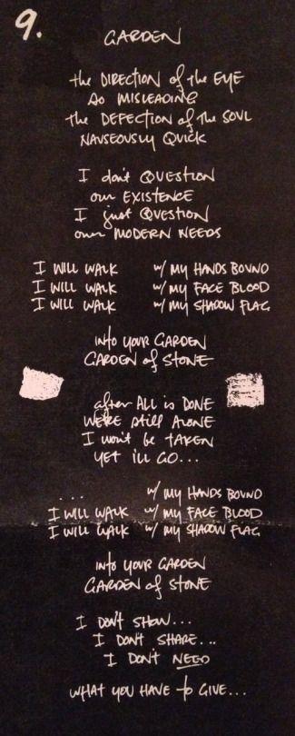 Garden by Pearl Jam - Ten