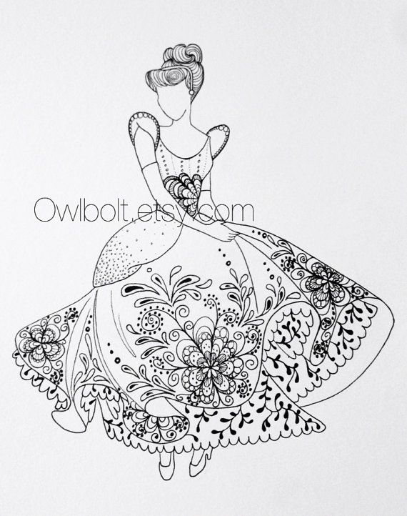 Disney Zentangle Coloring Pages : Best images about coloring pages on pinterest