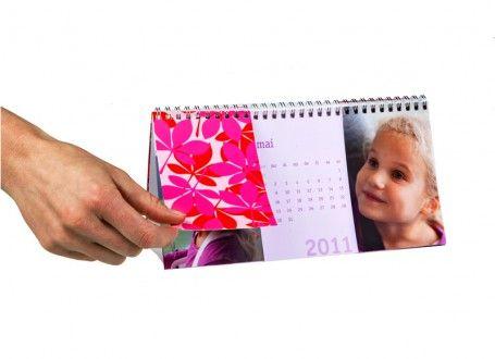 Kalender für Tisch