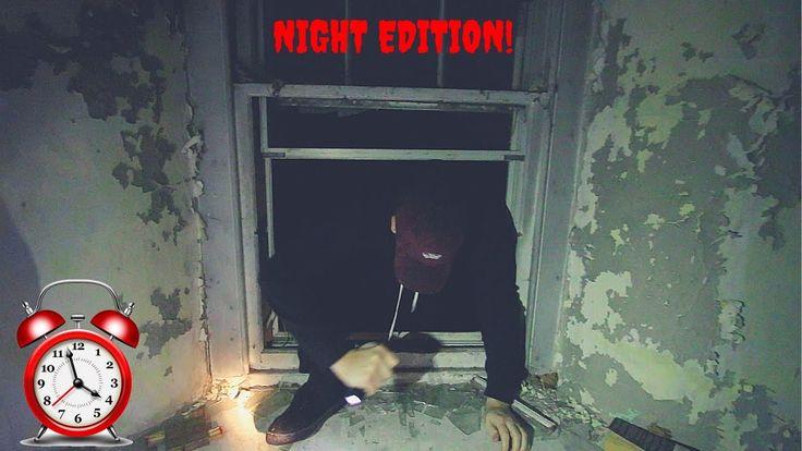 Exploring Huge Abandoned Millionaires Mansion at NIGHT! (Satanic Ritual ...