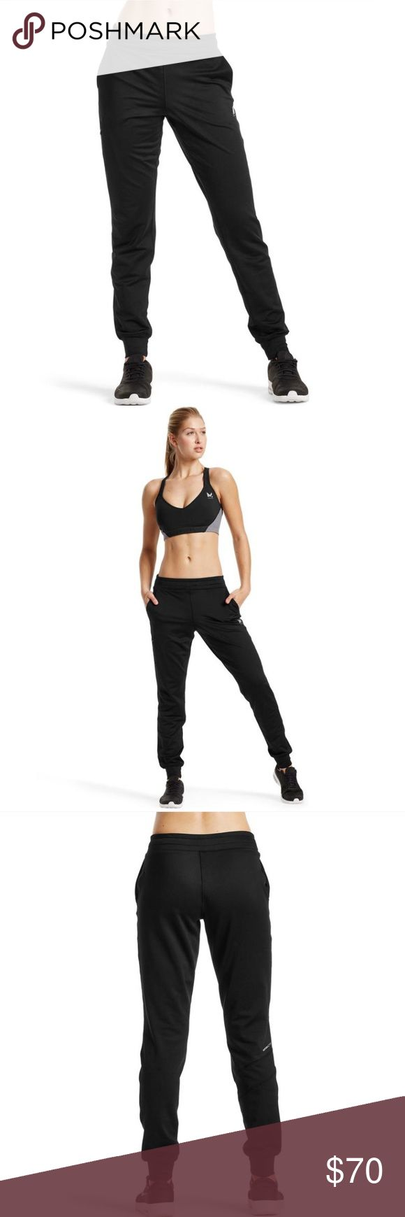 Mission Vapor Active atmosphere jogger pants BRAND NEW WITH TAGS - Mission athletics black jogger pants, size XS, revolutionary vaporactive material attracts moisture at the vapor level and rapidly removes sweat, keeping you cool, dry and comfortable. Adjustable waistband for drawstring fit, full zip side pocket. Mission Pants Track Pants & Joggers