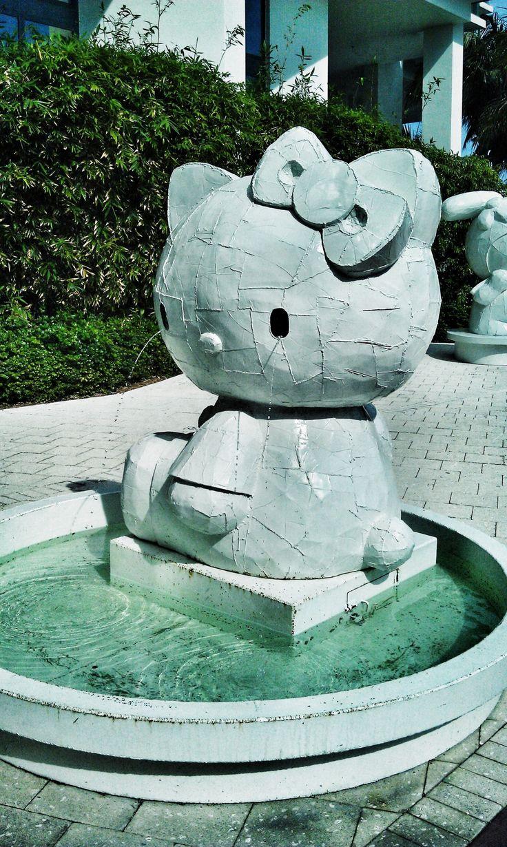 Hello Kitty Fountain