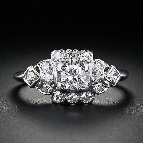 1950s engagement ring. @Ashlyn Gilbert Gilbert Gilbert Gilbert Gilbert Moon and this one lol
