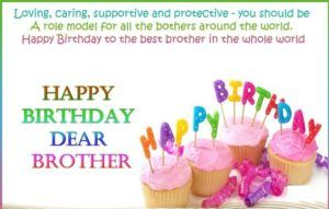 Happy birthday wishes to brother : Birthday Images, messages and quotes for brother