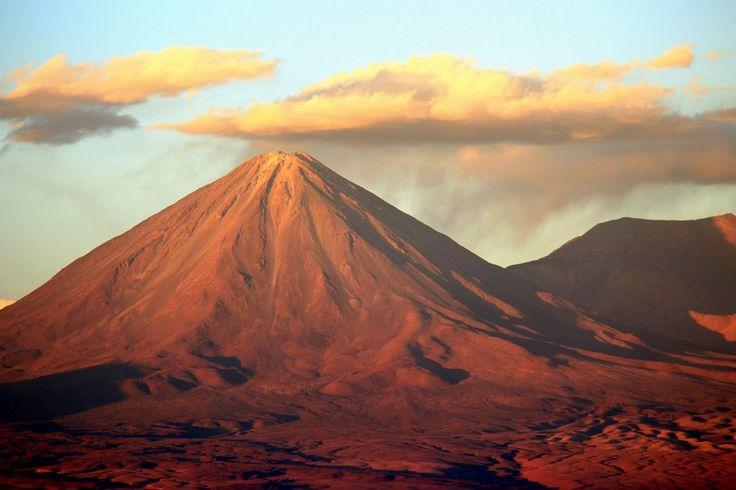 Le désert d'Atacama au Chili.
