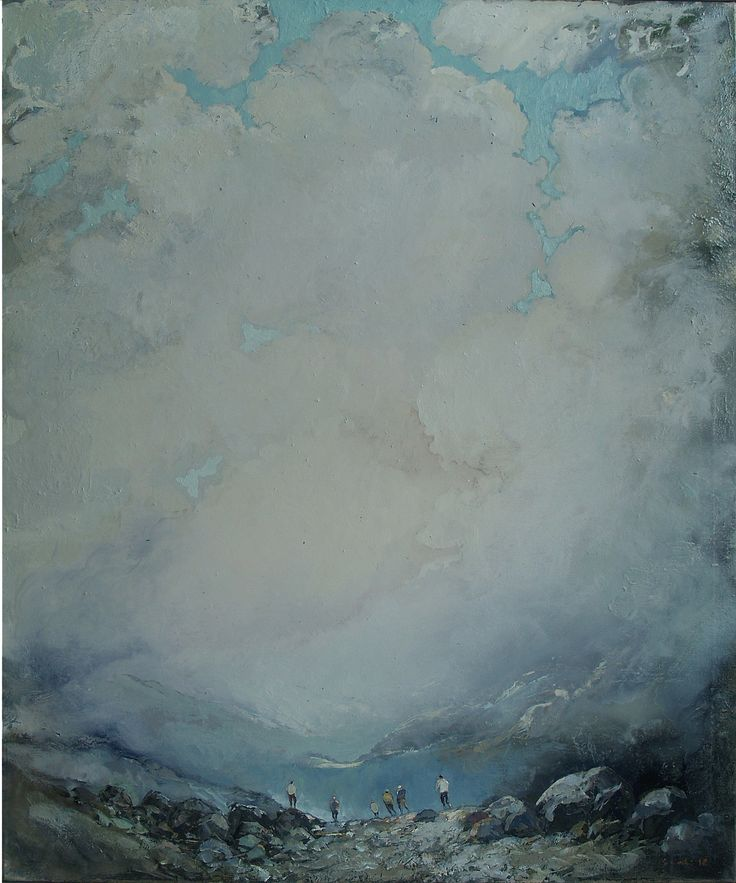 Tuomo Saali, Brotherhood 2. oil on canvas 2012-15