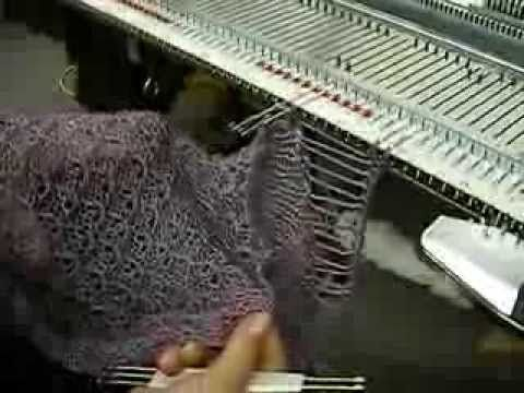 Machine Knit Fringe by Carole Wurst - YouTube