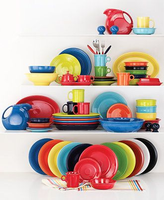 Every meal is a party with Fiesta dinnerware