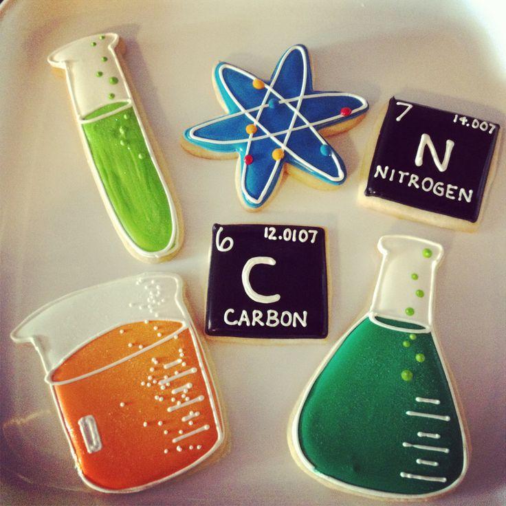 Chemistry cookies   Cami's Cake Co. in Eudora, KS www.facebook.com/camiscakeco
