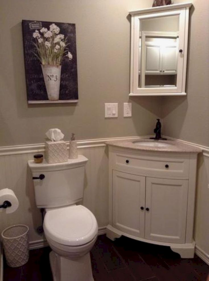 Small bathroom remodel ideas (24) #bathroomremodeling Bathroom