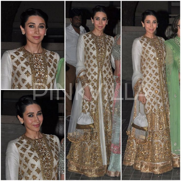 Yay or Nay : Karisma Kapoor in Manish Malhotra At Soha - Kunal Reception