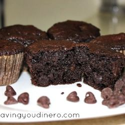 Perfect Chocolate Chip Muffins- They taste just like Costco's Muffins but not
