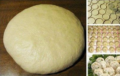 Супер тесто на пельмени и вареники Ингредиенты:- газировка 1 ст. (минеральная вода газированная) яйцо 1 шт, соль 0,5 ч.л.,- сахар 0,5 ч.л. oliya 4 ст.л., мука 4 ст. Приготовление: соединить все составляющие, кроме муки.Муку подсыпать постепенно, Замесить мягкое тесто,чтобы не прилипало к рукам и столу. Дальше лепим вареники или пельмени, его можно варить, тушить или печь. Также подходит на чебуреки, но тогда в тесто не добавлять яйцо.,from Iryna