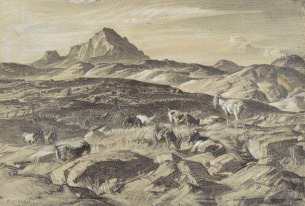 Hans Heysen Blinman (Mt. Patawerta) 1940