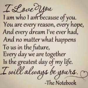 Love love love the notebook movie by staci