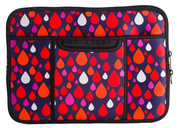 These iSmart Cases from MDI would a good addition to your Telco range - bold modern prints, pockets, zippers and an expanding bottom - this iPad case has it all