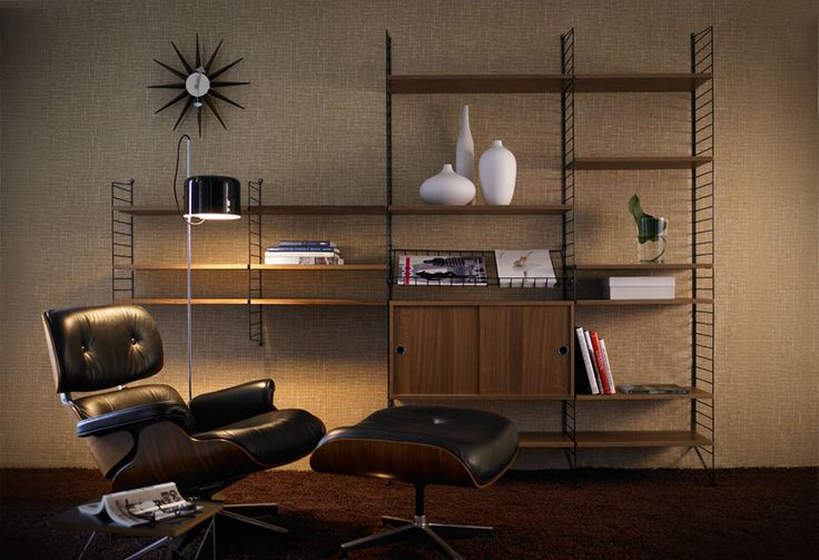 String System + eames lounge chair