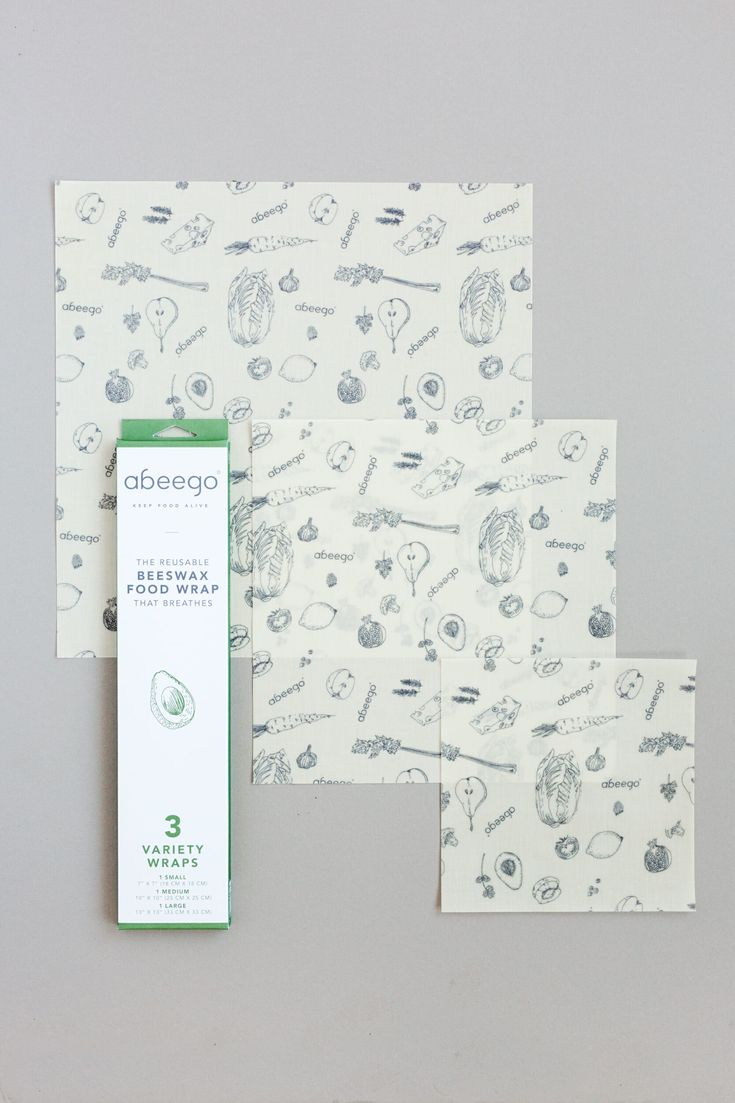 Bivokspapiret fra Abeego er et godt plastfritt alternativ til for eksempel plastfolie. Bivokspapiret puster og kan brukes igjen og igjen.