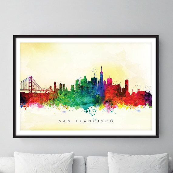 Check out this item in my Etsy shop https://www.etsy.com/uk/listing/513004926/san-francisco-skyline-san-francisco