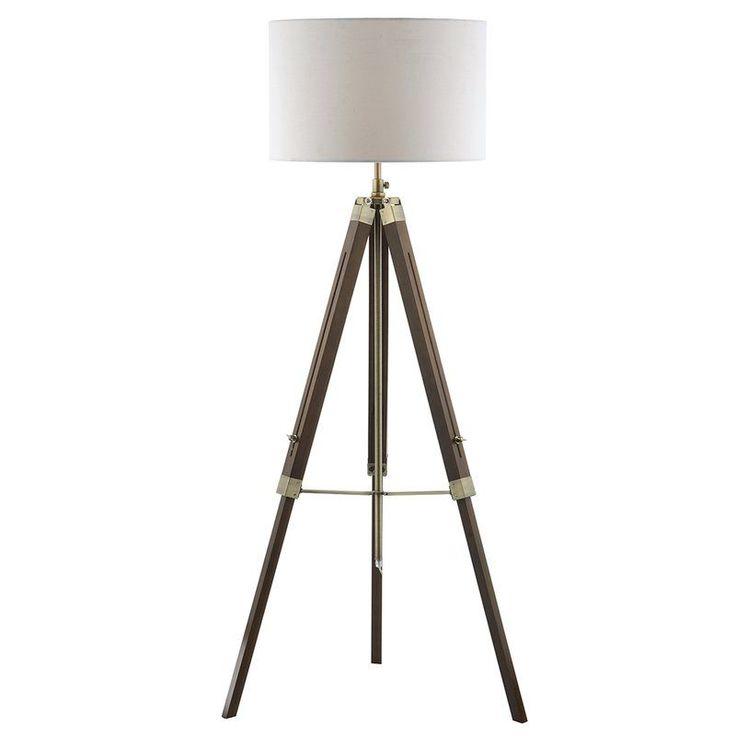 Living Room - Easel 142cm Tripod Floor Lamp Base - Wayfair