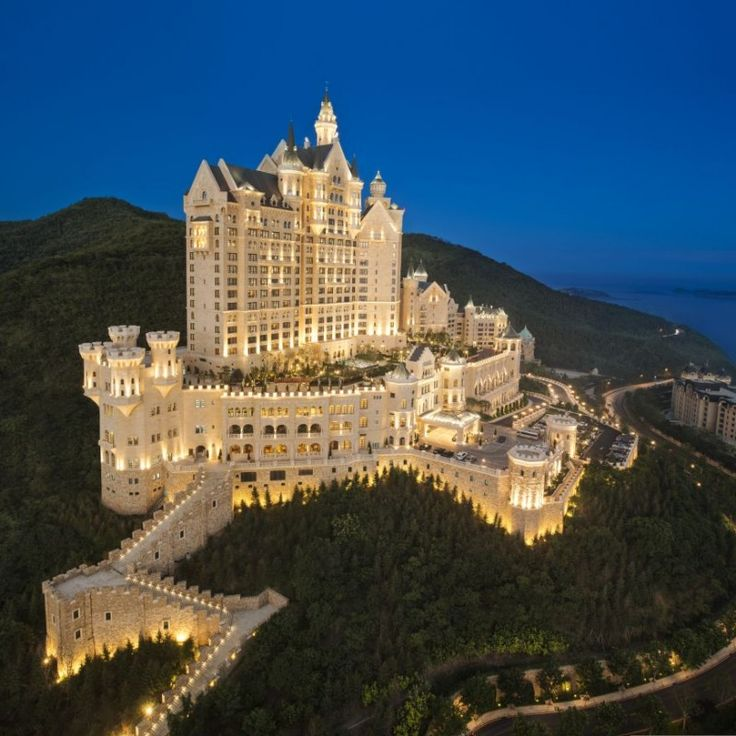 The Castle Hotel in Dalian, China, A Luxury Collection Hotel.