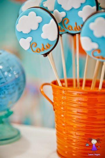 Encontrando Ideias: Festa Aviador!!