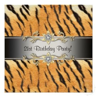 Tiger Birthday Party Theme | Jungle Safari Party - Party Supplies | Party Themes & Ideas | Party ...