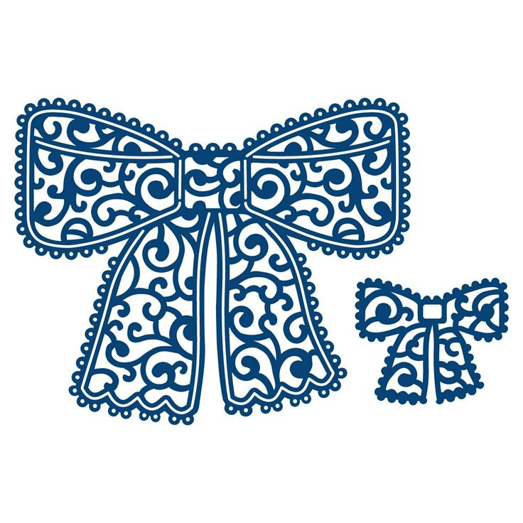 Tattered Lace Chantilly Bow (ACD172)