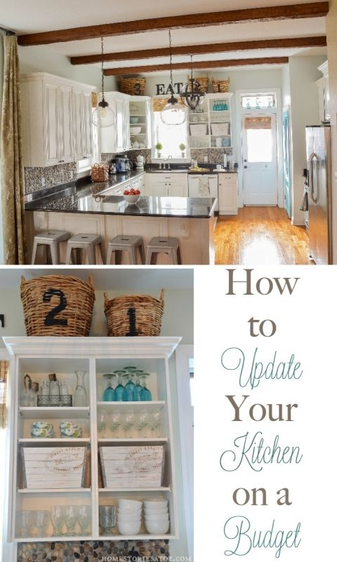 How To Update Your Kitchen On A Budget Kitchens And Budget