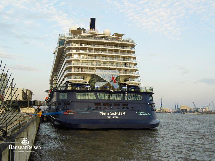 Mein Schiff 4 - das vierte Wohlfühlschiff von TUI Cruises!