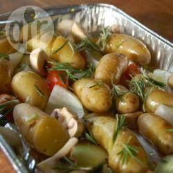 Foto recept: Aardappeltjes met rozemarijn uit de oven