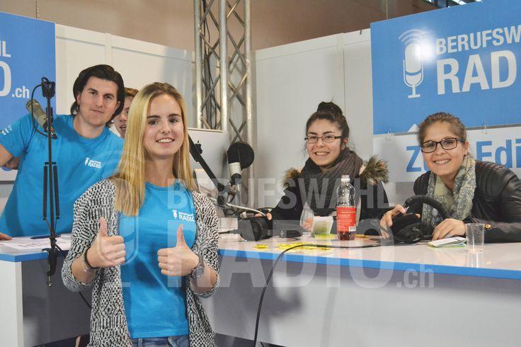 Tatiana und Betül über das Berufswahlradio.ch, Studien und Gleichstellung.