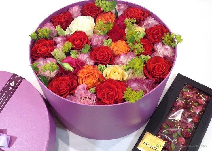 Цветы и шоколад chocoMe.