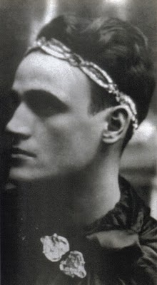 Pope John Paul II as a young thespian in the Rhapsody Theater, ca. mid-1930's