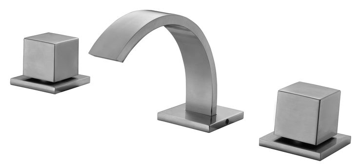 Best Bathroom Faucet Brand : ... brand bathroom widespread bathroom faucets nickel modern alfi brand