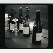 Some bottles -- Kinfolk Magazine Dinner Series featuring Robert Mondavi Private Selection.