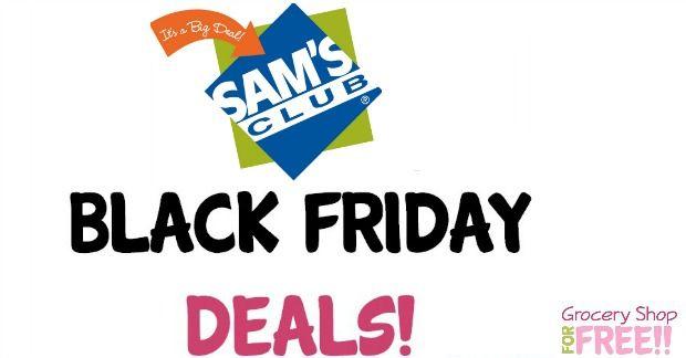 Sams Club Black Friday Deals!